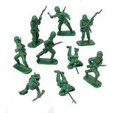 Coleccionable Bolsa De Lujo De Soldados Juguete Clásico Ver