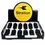 Caixa De Apito Profissional Stratton C/ 12 Unidades Preto