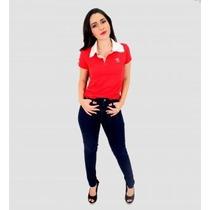 Kit 10 Camisetas Feminina Gola Pólo Atacado E Varejo
