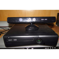 Xbox 360 4gb - Desbloqueado - 1 Controle + Kinect + 65 Jogos
