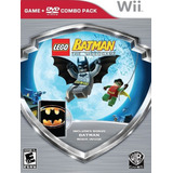 Lego Batman + Pelicula Dvd Batman Wii Nuevo Sellado