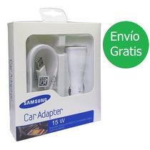 Cargador Para Auto Samsung Fast Charging Charge Carga Rápida