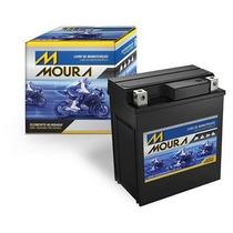 Bateria Moto Shineray 50 Moura Ma3-d Honda Biz 100 Ytx4l-bs