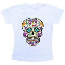 Camiseta Infantil Caveira Mexicana Cm602