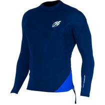 Camiseta Lycra Manga Longa Mormaii Flexxxa Neo Azul/azul