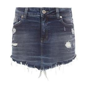 Saia Jeans Destroid Jonh Jonh Feminina - Frete Gratis!!!!!