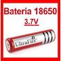 Pila Bateria Recargable 18650 3.7v Li-ion Ultrafire Pm0