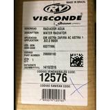 Radiador Visconde Astra 1999/2009 Zafira 2001/2009 12576