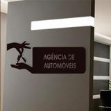 Quadro Adorno Agencia De Automoveis Em Mdf Vazado