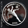 Moneda Plata Mundial Alemania Proof 2004 - Certificado Bcra