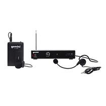 Gemini Dj Vhf-01hl Wireless Headset Microphone