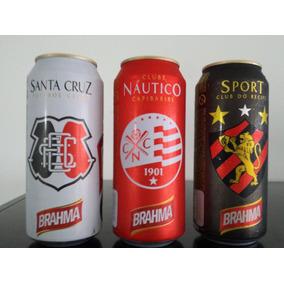 Kit Com3 Latas De Cerveja Com Emblema Dos Clubes De Recife