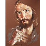 Cuadro, Osmar Cairola, Pintura Pastel No Óleo, Jesús