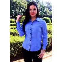 10 Camisas Sociais Femininas - 34,90 Cd