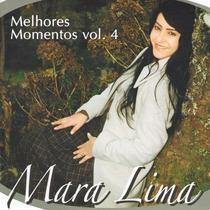 Cd Mara Lima - Melhores Momentos Vol. 4 - Cd Duplo Voz E Pb