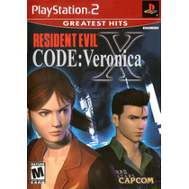 Resident Evil Code: Veronica X Playstation 2 + Envío Gratis
