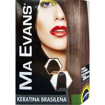 Ma Evans® Keratina Brasileña Kit. Pelo Alisado Y Sin Frizz!!