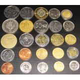 Lote 100 Monedas Mundo Diversos Países Buen Estado! Oferta