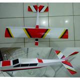 Kit De Cessna 182, Aeromodelo Elétrico Mais Barato Do Ml !!!