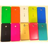 Tampa Traseira Bateria Coloridas Nokia Microsoft Lumia 640xl