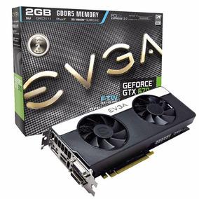 Placa De Vídeo Geforce Gtx 670 Ftw 2gb Ddr5 256bits Evga