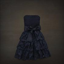 Vestido Hollister - Tomara Que Caia - Babado E Rendado Tam P