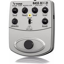Pedal Behringer Bdi 21 V-tone Bass Amp Modeler Bdi-21