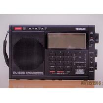Rádio Tecsun Pl600 Sintonia Digital Full-band Pronta Entrega