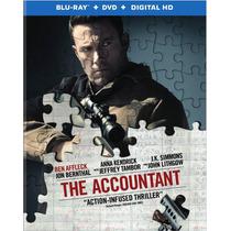 The Accountant - El Contador - Bluray + Dvd Importado Usa