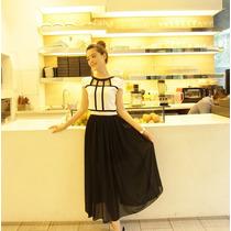 Vestido Largo Casual Juvenil Elegante Moderno Juvenil 640
