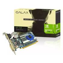 Geforce Galax Gt Mainstream Nvidia Gt 710 1gb Ddr3 64 Bit