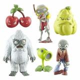Plantas Vs Zombies Set De Colección 6 Figuras Plástico 6 Cm