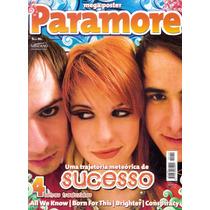 Revista Pôster Paramore = C/ Poster Gigante 52 X 81cm Nova!