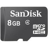 Cartão De Memória 8 Gb Micro Sd Sandisk Original