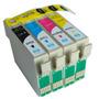 Set X4 Cartuchos Para Epson Xp211 Xp401 Xp201 Alternativos