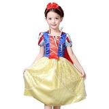 Disfraz Para Niña Traje De Blancanieves De Disney Princesa