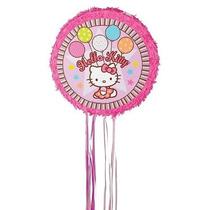 Hello Kitty Tirón De Cadena Piñata W5