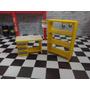 Bancada + Prateleira Diorama Oficina Mecanica 1:24 Amarela