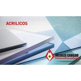 Placas De Acrilico -cortes A Medida-