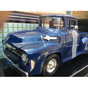 Camioneta For A Escala F 100 A Scala Nueva Original Azul