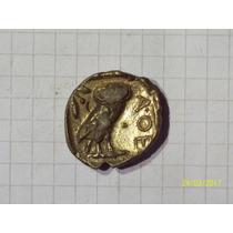 Grecia Linda Replica Lechuza De Atenas 10 Gr 20 Mm