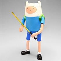 Boneco Finn Hora De Aventura Adventure Time 21cm Maleável