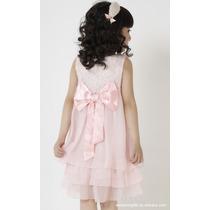 Elegante Y Hermoso Vestido De Niña Moda Japonesa 2015 Op4