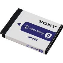 Bateria Recargable Np-fd1 Npfd1 Original Sony Cybershot
