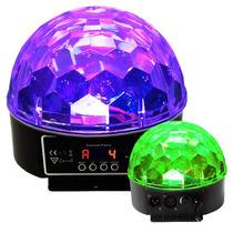 Cristal Ball Esfera Dmx Luz Disco 5 Colores Sec. Audioritmic