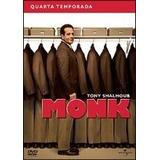 Dvd Monk - 4ª Temporada Completa- 4 Discos