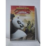 Dvd Kung Fu Panda - Lendas Do Dragão Guerreiro - Lacrado