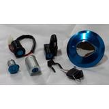 Kit Chave Contato Ignição 5 Peças Cg Titan 125 2002 Até 2008