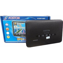 Gps Automotivo Foston Fs-3d717dc Fm/3d/tv/4gb Tela 7 Novo
