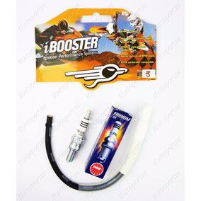 Kit Ibooster F3 Preto + Ngk Iridium Cg Titan Fan 150